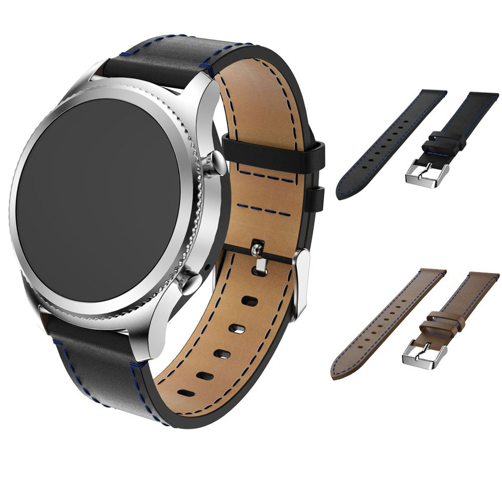 884742326dc4 Samsung Gear S3 Frontier Classic replacement Watch Strap