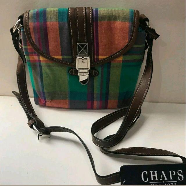 e9da426e7d Authentic Chaps belmont cross body bag by Ralph Lauren