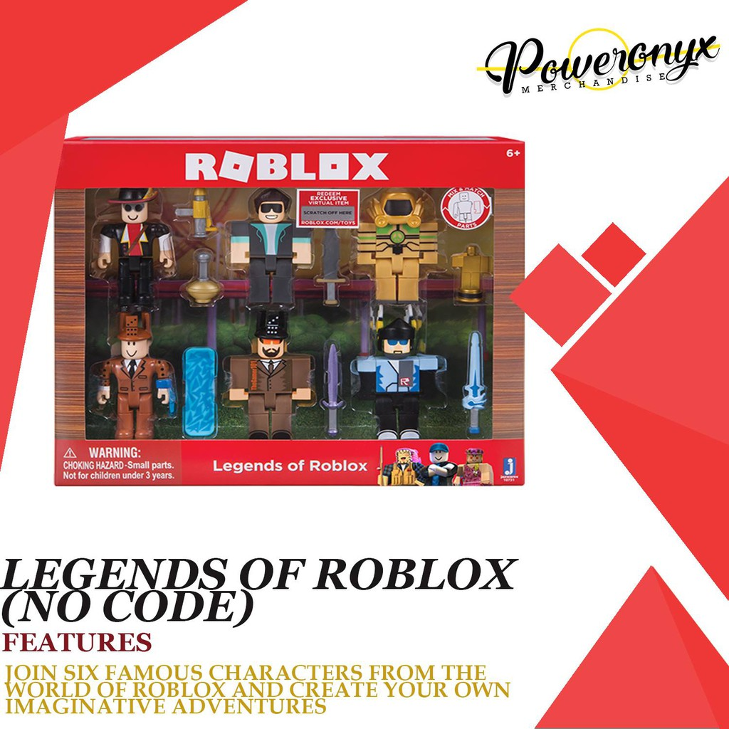 Roblox 6 in 1 Legends of Roblox