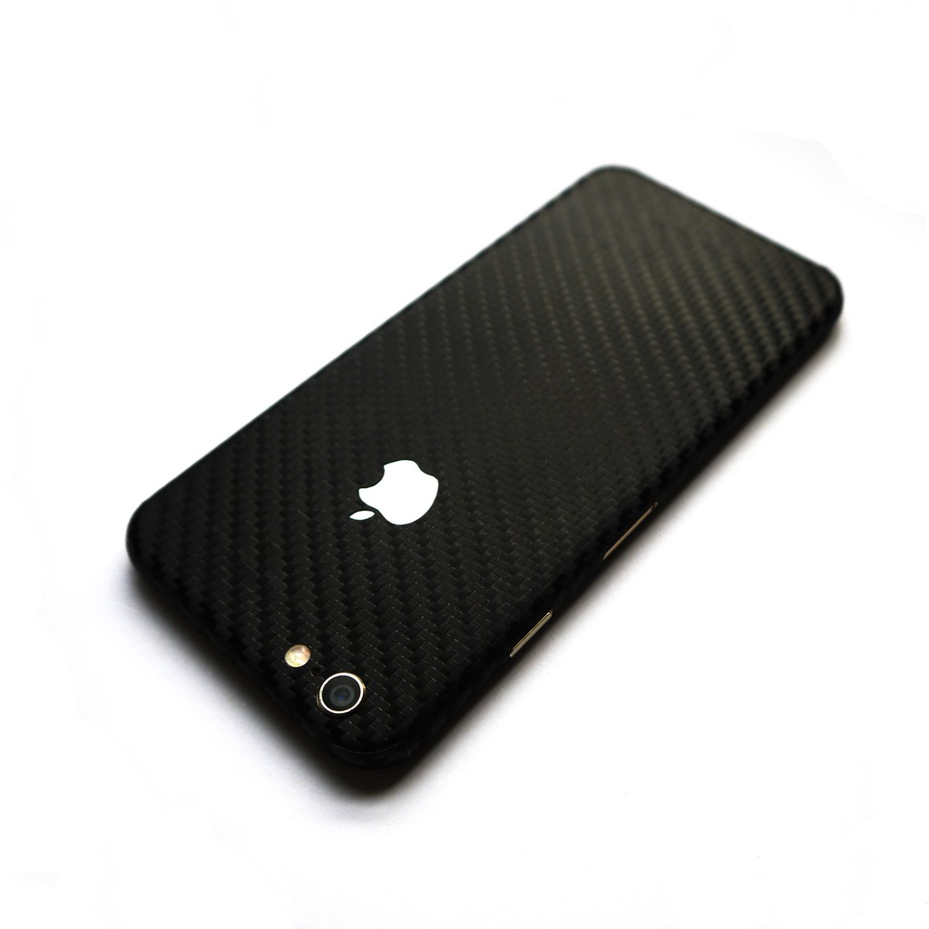 more photos 52f82 b623e Wrapped Up Skin Case for iPhone 6s Plus / iPhone 6 Plus Carbon Fiber Black