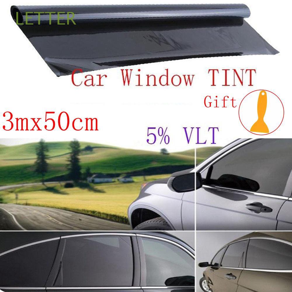 "Uncut Roll Window Tint Film 5/% VLT 36/"" In x 25/' Ft Feet Car Home Office Glass"