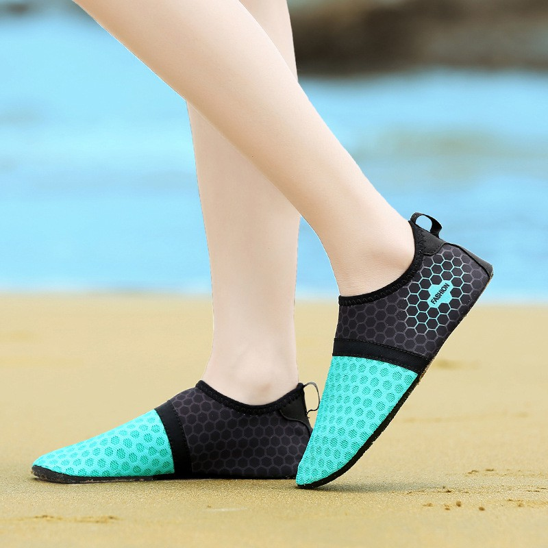 f8778db16d7a Aqua Water Shoes Men Women Quick Dry Beach Outdoor Swimming Water Shoes -  blue