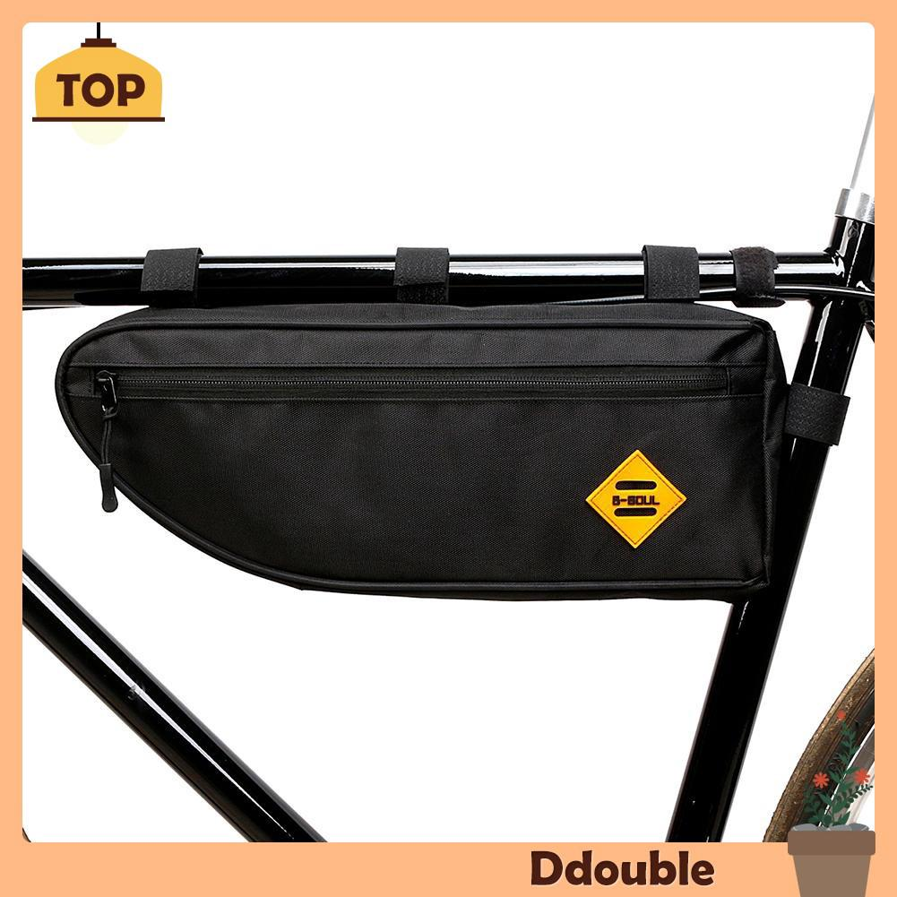 b1b28b9e540 [Ddou] B SOUL Bicycle Triangle Bag Bike Frame Front Tube Bag Waterproof  Pouch