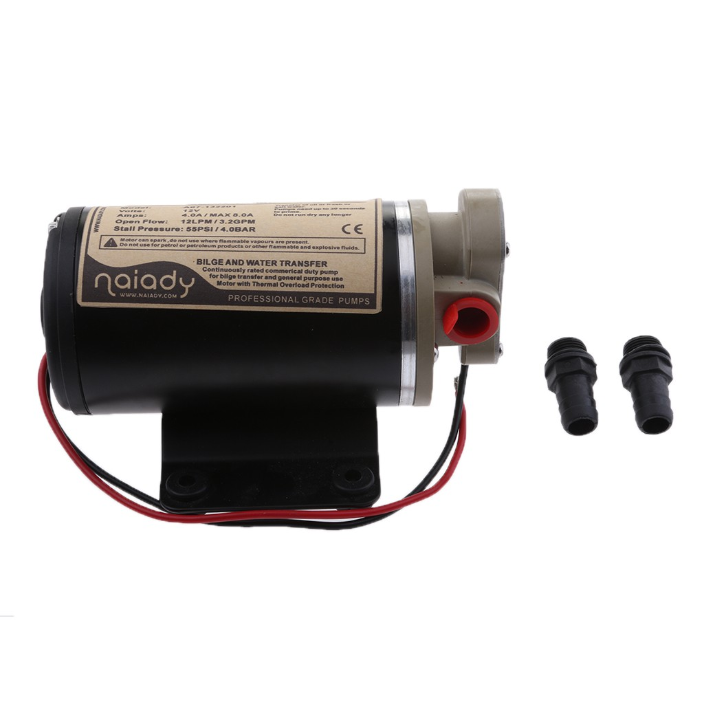 12V Scavenge Impellor Gear Pump - For Diesel Fuel Scavenge