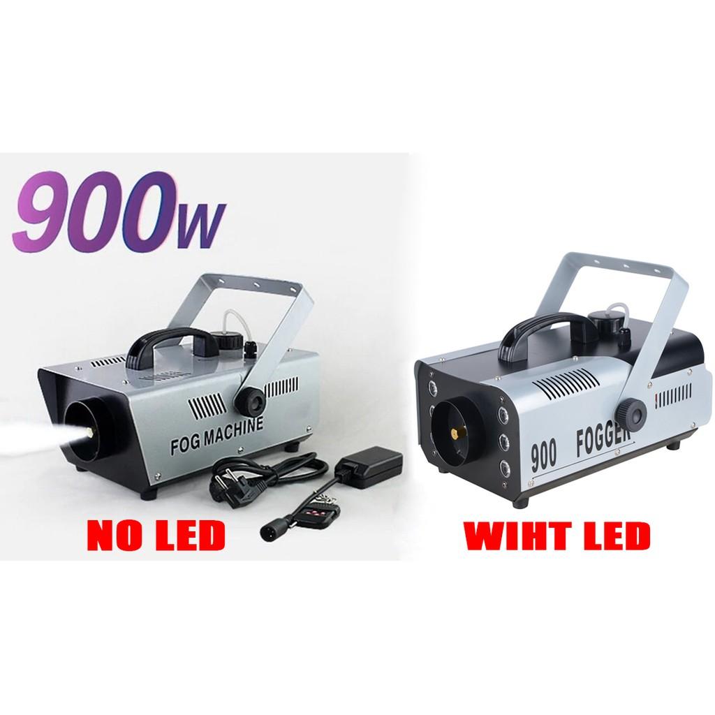 900W RGB Smoke Fog Machine Remote/Wire Control Fogger 2Model