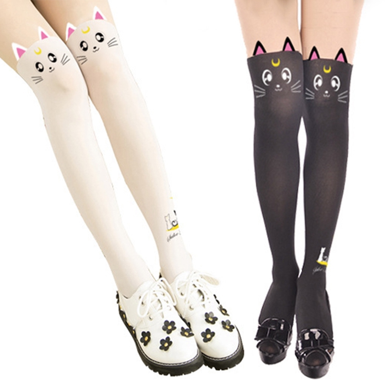 Women Ladies Over The Knee Hold Up Stockings Socks Thigh High With Bows Hot Sale