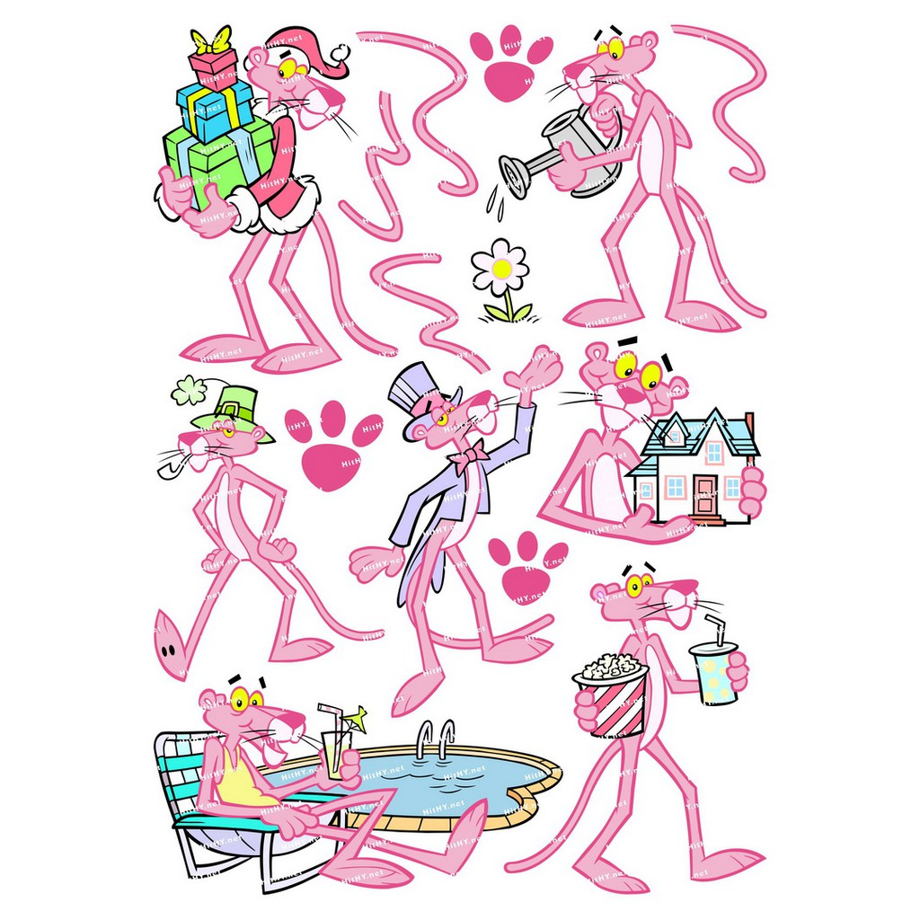 Illustration Computer Icons, pink panther inspector, purple, violet png    PNGEgg