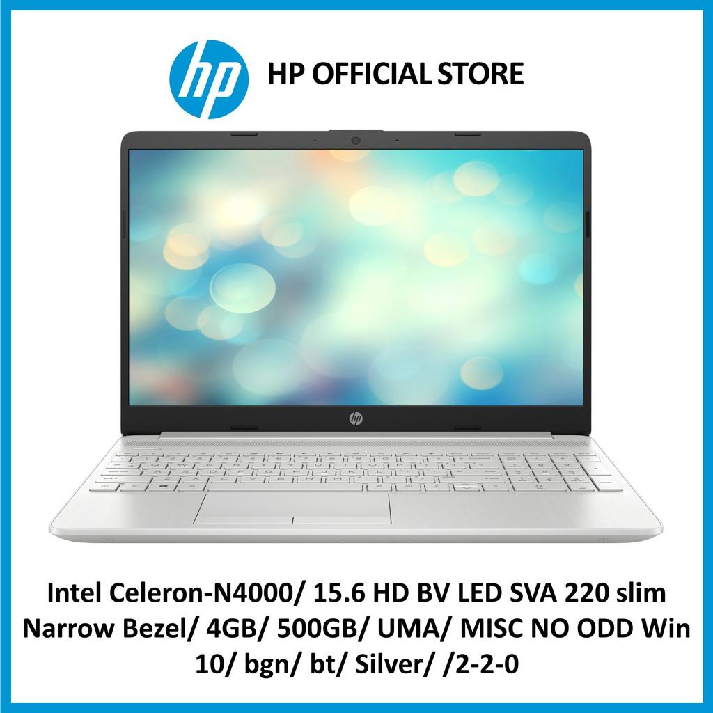 HP Laptop 15S-DU0047TU / Intel Celeron-N4000 with FREE Backpack