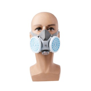 Fire Respirators Intelligent N3800 Anti-dust Facepiece Filter Paint Spraying Cartridge Respirator Gas Mask Easy To Lubricate
