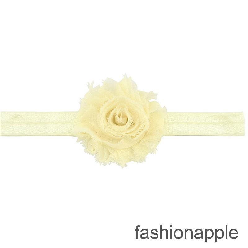12X Chiffon Flower Headband Floral Hair Clip Accessories Bowknot Boutique Roses