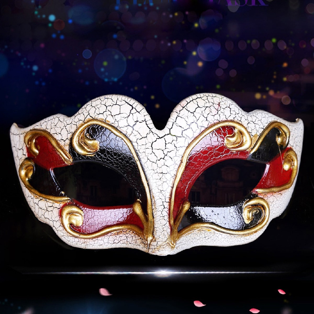 Party Cosplay Masquerade Mask Venetian Style Half Face