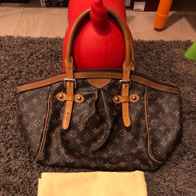 Pre Loved Authentic Lv Bag Gm Tivoli Shopee Philippines