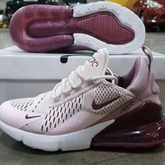 promo code d68dd 5d78e Nike Airmax 270 Barely Rose