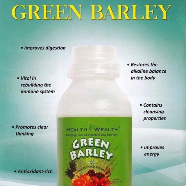 zielony jęczmień sok w proszku