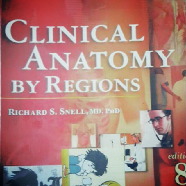Snell Clinical Anatomy By Regions 8th Ed Shopee Philippines
