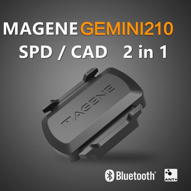 MAGENE Gemini 210 S3 Bluetooth for GARMIN iGPS Speed Dual Sensor Cadence Ant