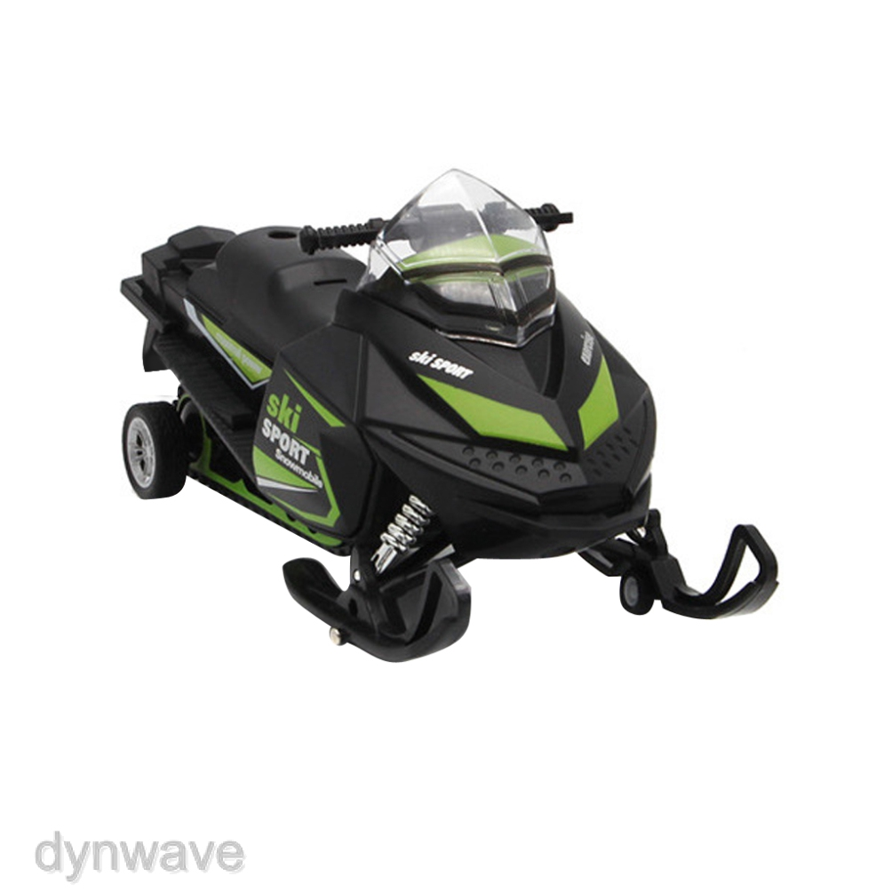 Dynwave Die Cast Motorcycle Model Kits Simulated Snowmobile Toys Kids Christmas Gift Shopee Philippines