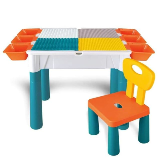 Lego Table Set 1 Chair Ee, Lego Table With Chairs India