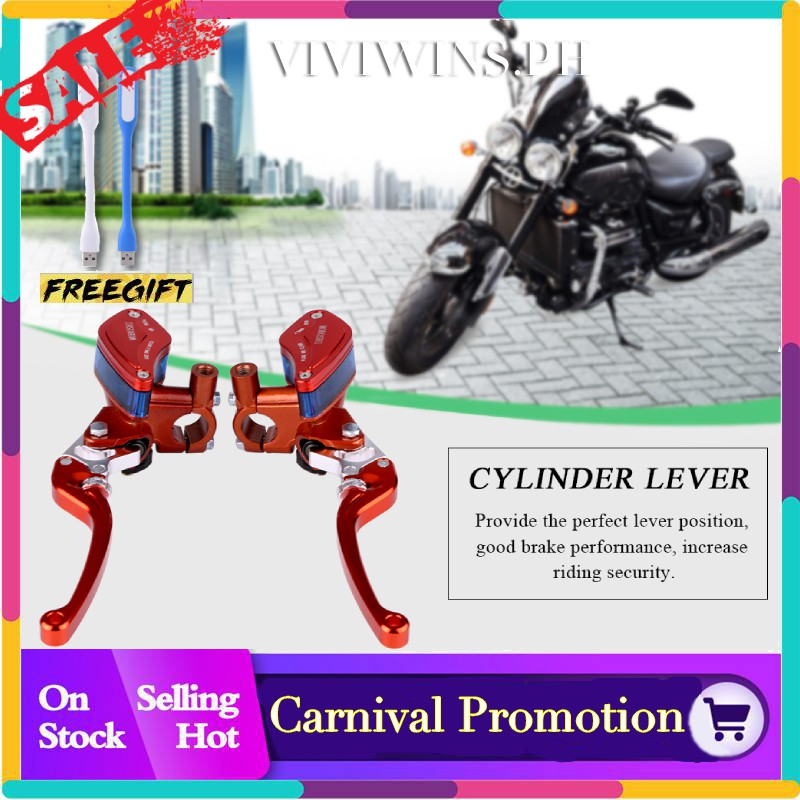 22mm 7//8 Universal CNC Aluminum Motorcycle Clutch Drum Brake Lever Handle Acouto Clutch Brake Lever Silver