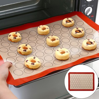 Rolling Sheet Silicone Baking Mat Pad Non-Stick Bakeware Flour Pastry Carpet New