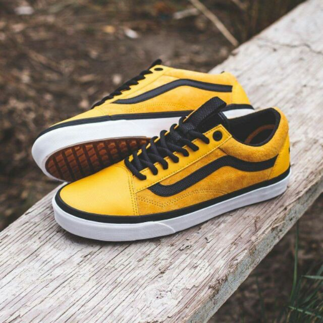 yellow vans the north face