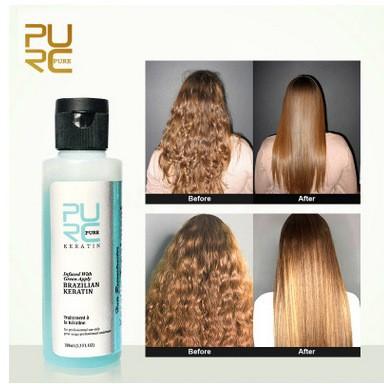 Brazilian Blow Dry Hair Straightening Keratin Treatm Shopee Philippines