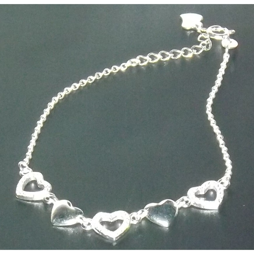 Sterling Silver Sideway Cross Charm Necklace SC10