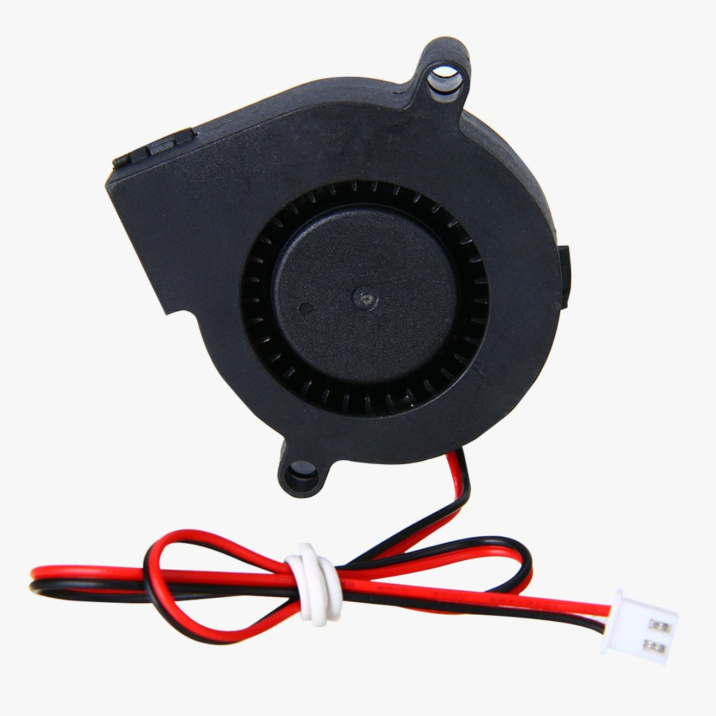 1pc 50mm 12V//24V DC Cooling Blower Fan 5000RPM Radial Hot End Extruder For 3D Printer Parts