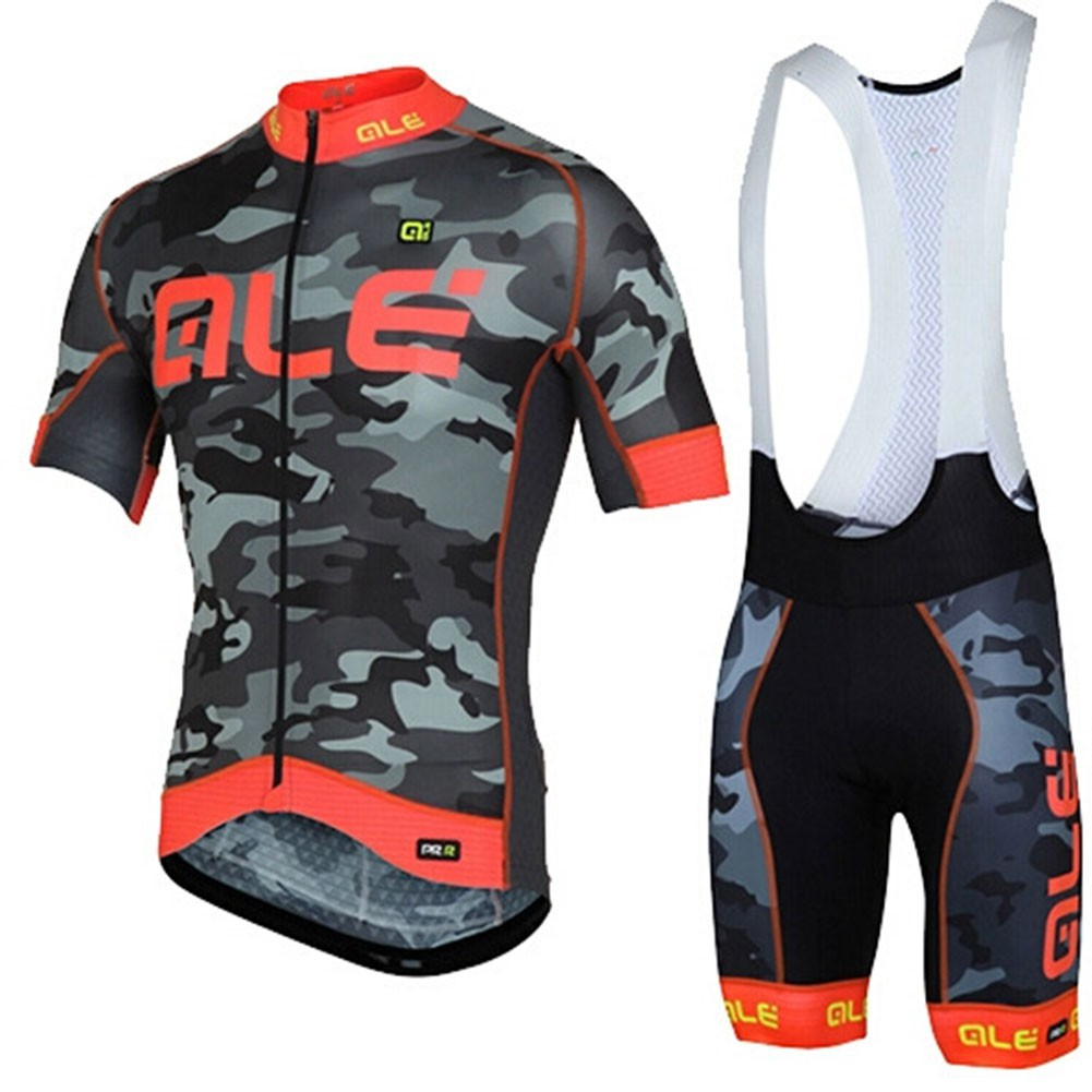 a6dbeb62b Sports Short Sleeve Giant Shimano Cycling Jersey and Bib Shorts Set ...