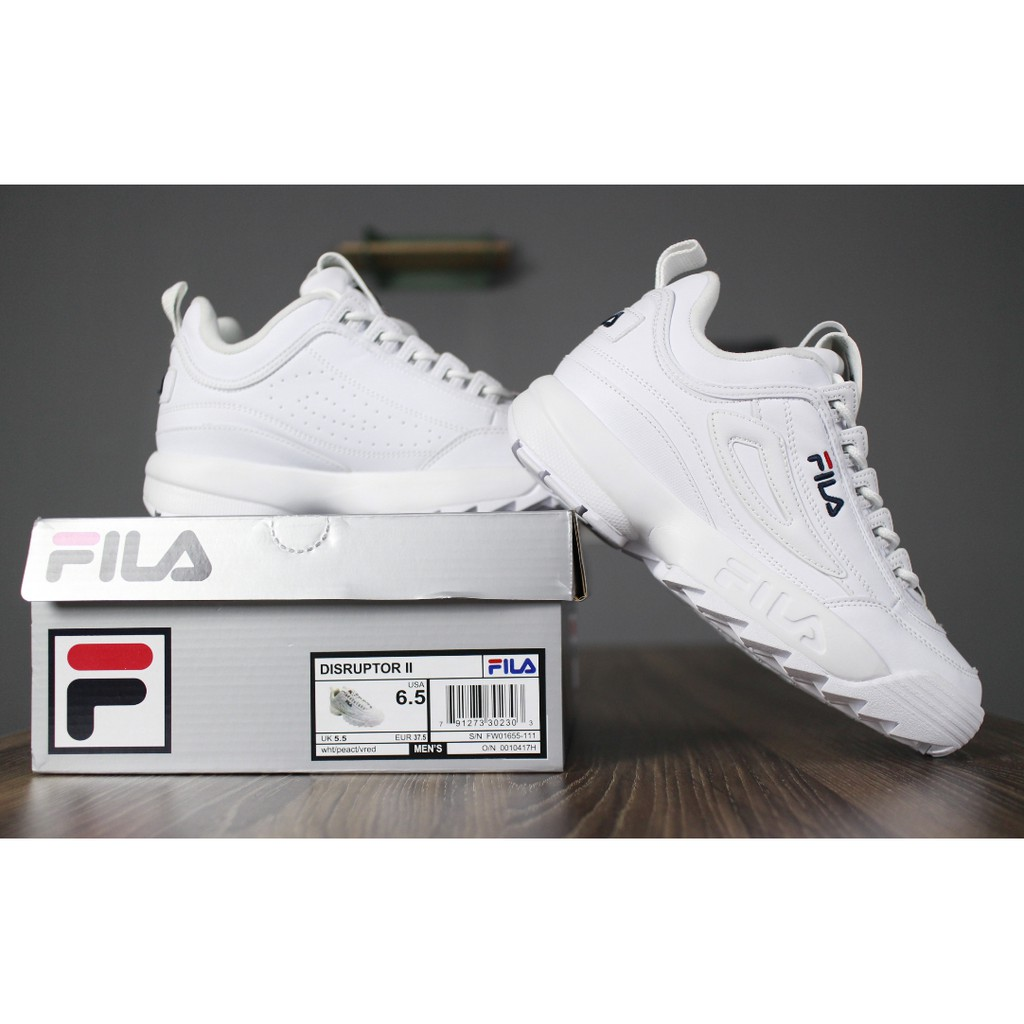 modern techniques comfortable feel skilful manufacture FILA Disruptor 2 men's and women's running shoes