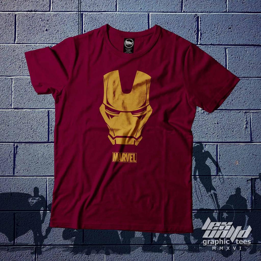Brazzers Shirt Shopee Philippines Ironman Red Tees