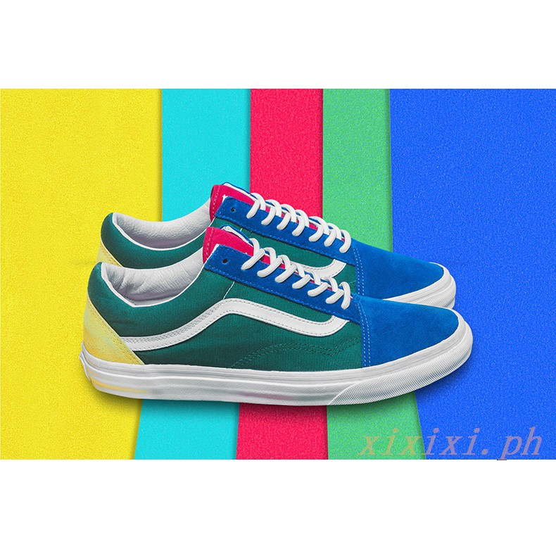 e780ff1e1b Vans Old Skool Retro Low Help Color Women Men Couple Shoes