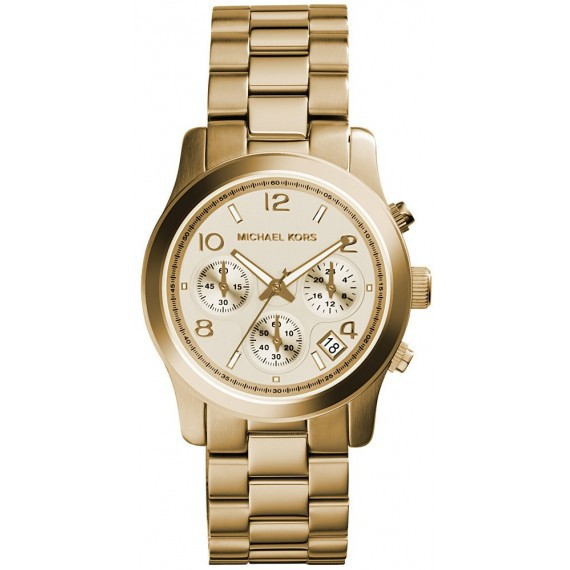 486af3340052 Michael Kors Bradshaw Chrono Two-tone Ceramic Watch MK5743