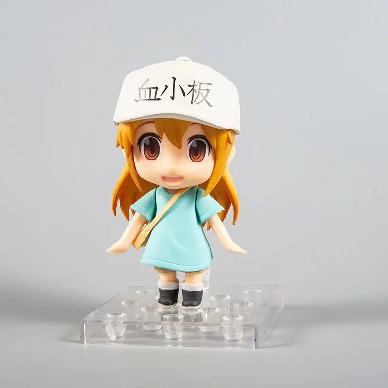 Anime Cells At Work Platelet PVC Figure In Box Collection 14cm