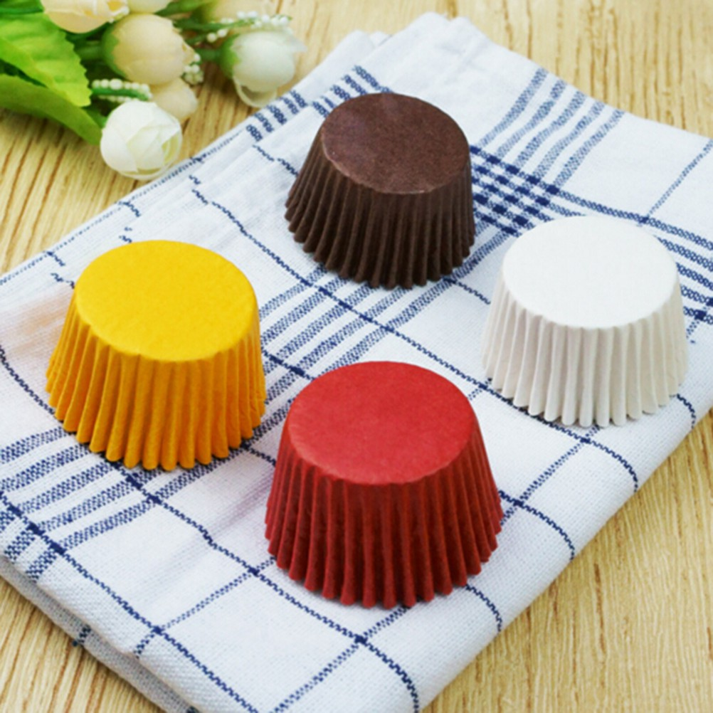 480 PCS Paper Cake Cup Liners Baking Cup Muffin Kitchen Cupcake Cases