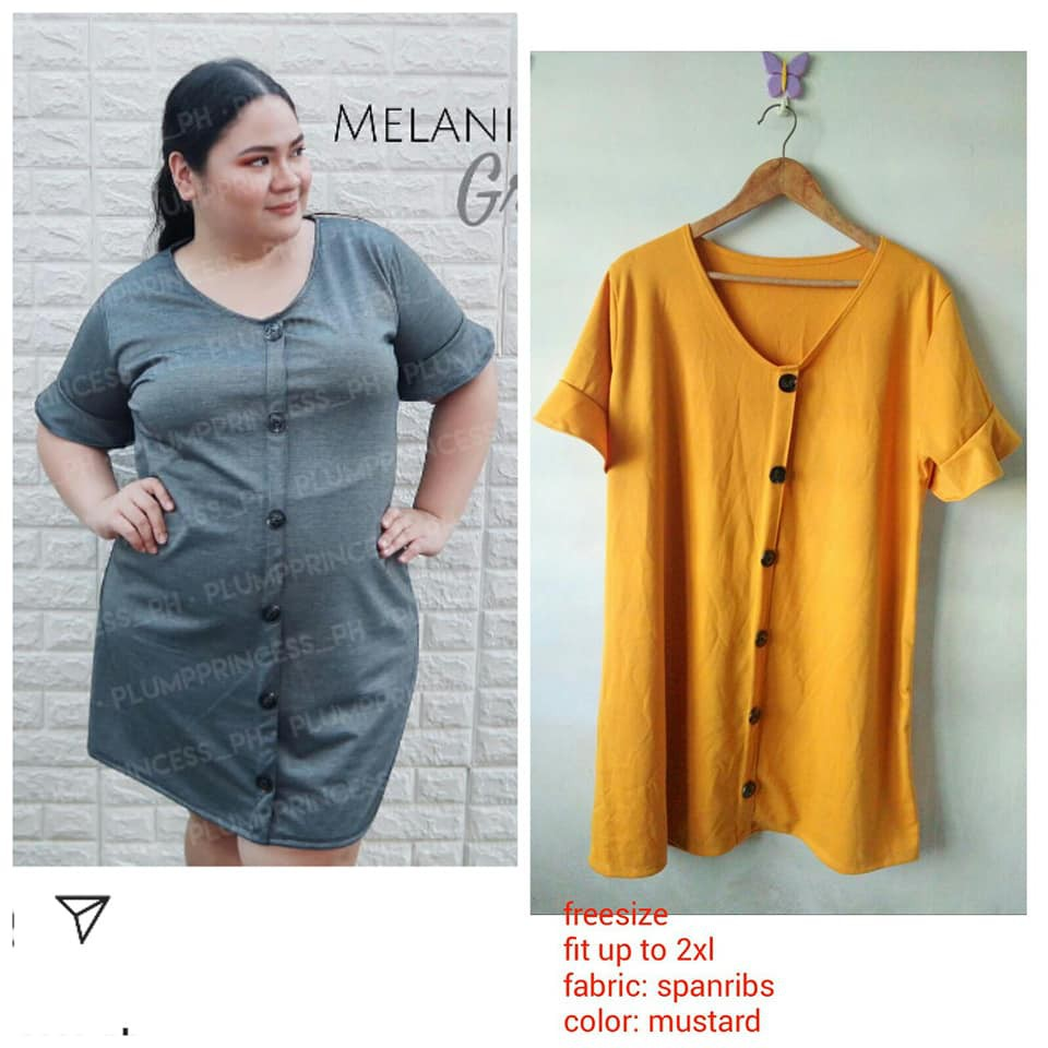 Plus Size Button Down Dress