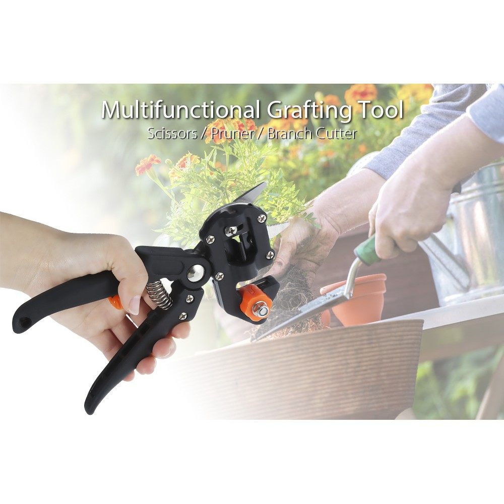 Camping & Hiking Sports & Entertainment Able Multifunctional Tool For Camping Hiking Kitchen V-shape U-shape Garden Graft Shear Pruner Pruning Knife