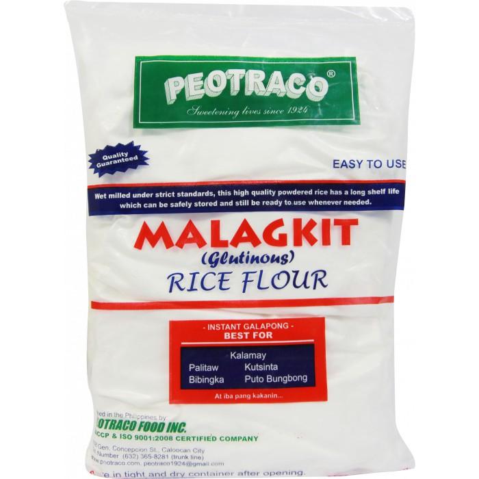 Peotraco Glutinous Rice Flour (Malagkit) 500grams