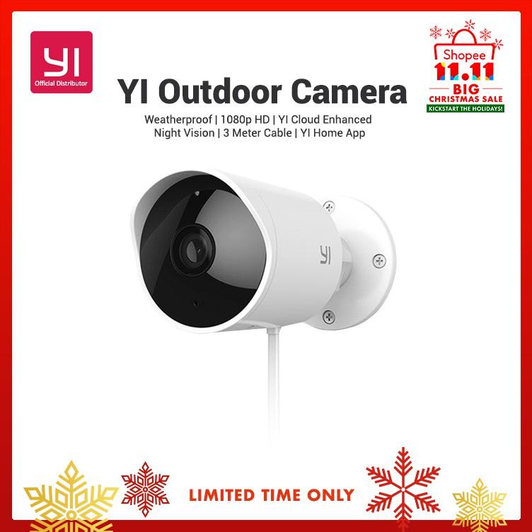 YI Outdoor Security Camera Night Vision English Version