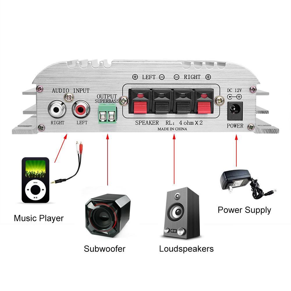 Yamaha Car Amplifier Va 410r Shopee Philippines Rc Wiring Diagram 2ch Am Reciver