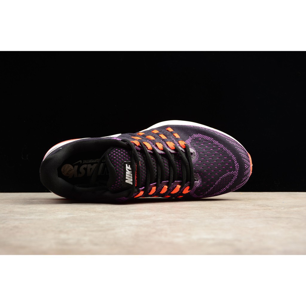 reputable site 25e7d b9cb2 Stock cod nike AIR ZOOM VOMERO 11 men s sports running shoes 39-45 purple  oran