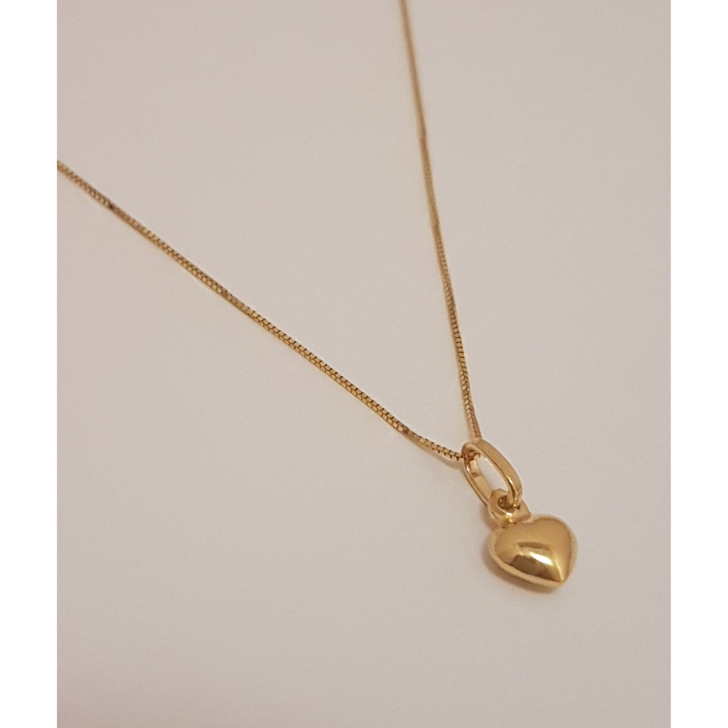 CASH ON DELIVERY 18k Gold Heart Necklace Jewelry bestseller