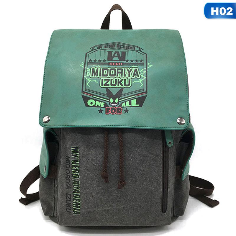 My Hero Academia Anime Drawstring Bag Sports Travel Rucksack Gym Backpack