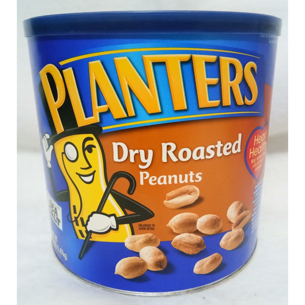 PLANTERS DRY ROASTED PEANUTS ( 1.47kg