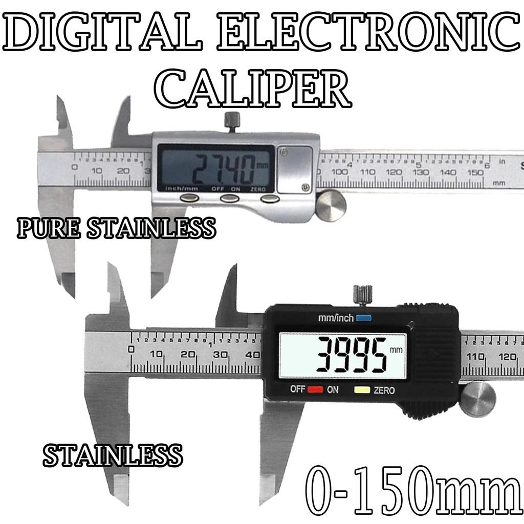 150mm 6 inch Caliper electronic vernier stainless caliper stainless steel
