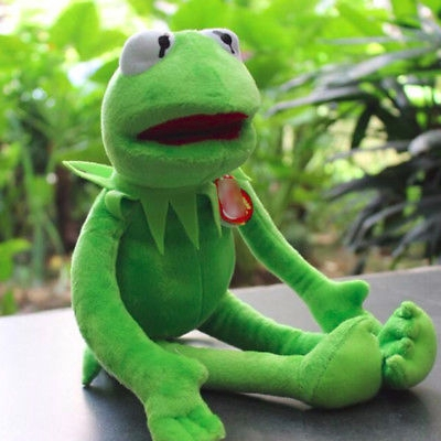 The Muppets Kermit The Frog Baby Soft Plush Stuffed Toy  9f6011721e44