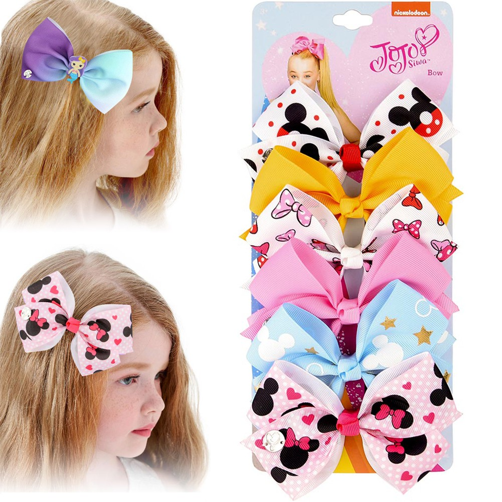 20pcs Hot Lovely Toddler Girl Hair Clip Bow Baby Kids Bowknot Headband  yN