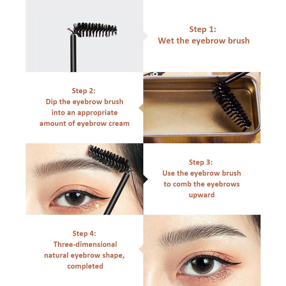 SANIYE Waterproof Long Lasting Eyebrow Gel Pomade Eyebrow Soap Wax Eyebrow  knife M324 | Shopee Philippines
