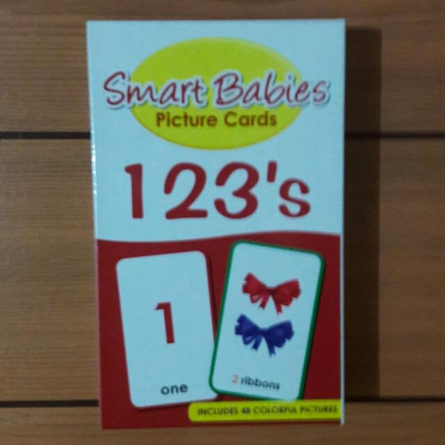 Smart Babies Picture Cards - Numbers