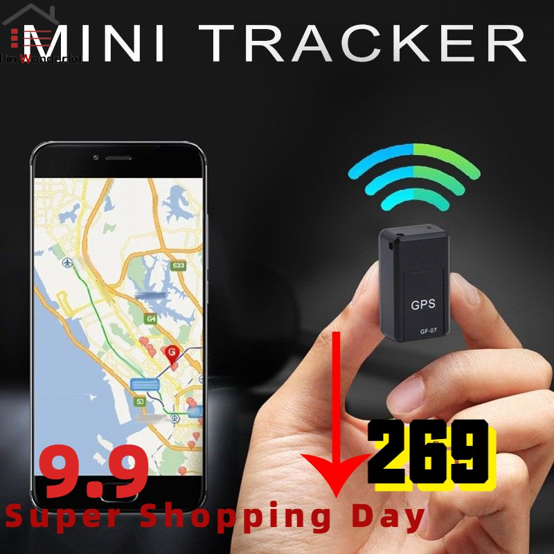 Mini GPS Long Standby Magnetic SOS Tracker Locator Device Voice Recorder
